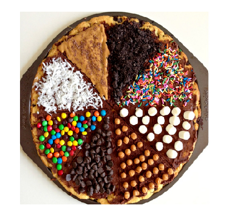 Chocolate Chip Cookie Pizza Fun Toppings – Eat More Chocolate Eat ...